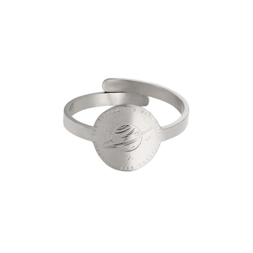 LADYLIKE FASHION Ring Space For Dreams Silver