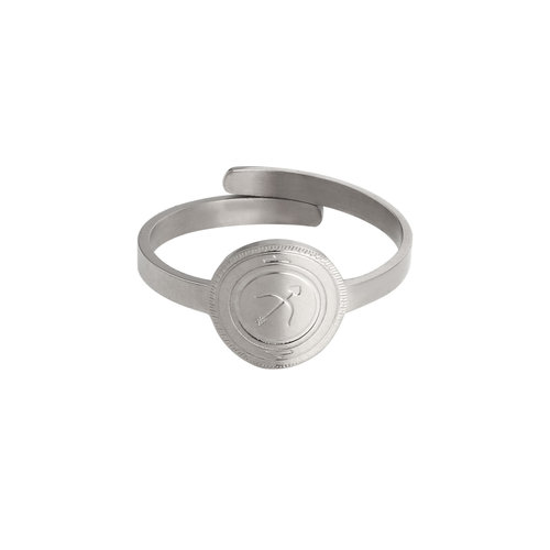 LADYLIKE FASHION Ring Shot At Love Silver