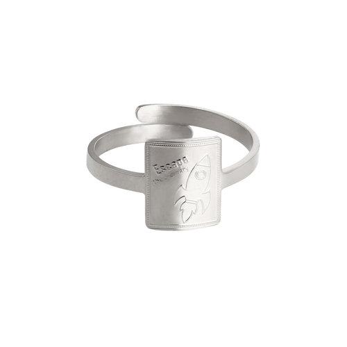 LADYLIKE FASHION Ring Rocket Power Silver
