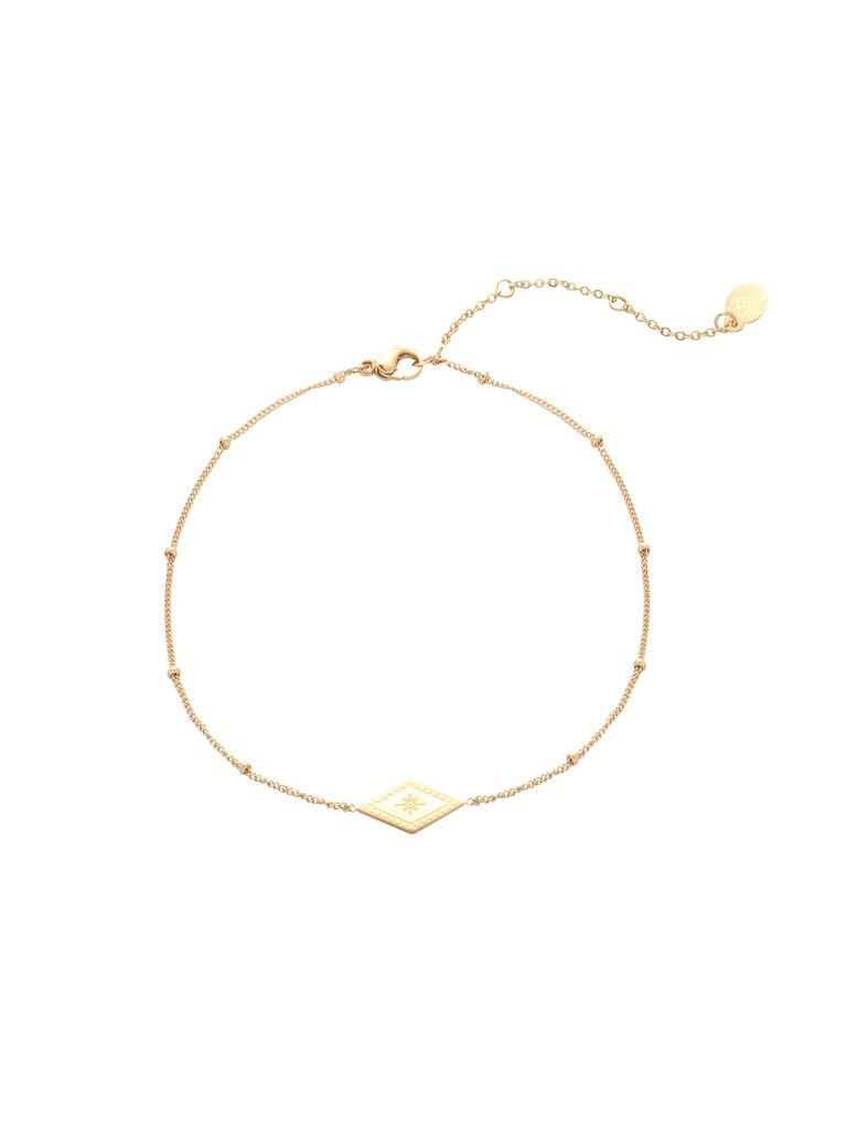 LADYLIKE FASHION Bracelet Sparkle On Gold