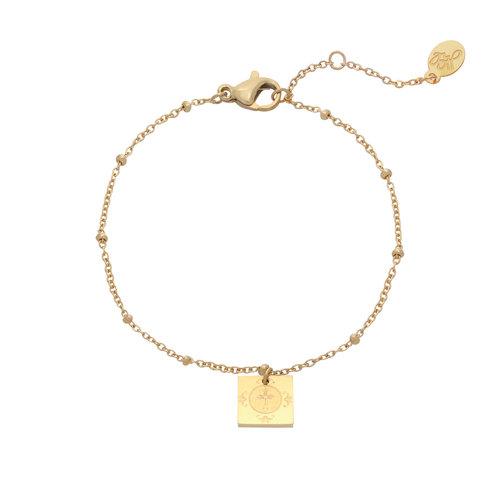 LADYLIKE FASHION Bracelet Religious Gold