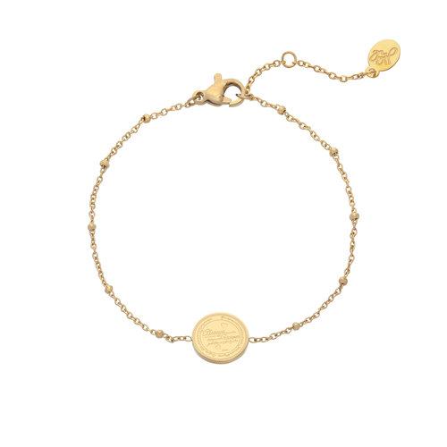 LADYLIKE FASHION Bracelet You're Unique Gold