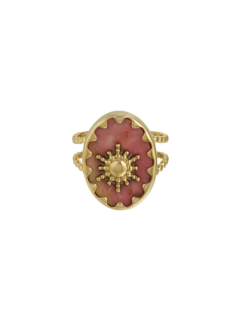 LADYLIKE FASHION Ring Ray of Light Pink