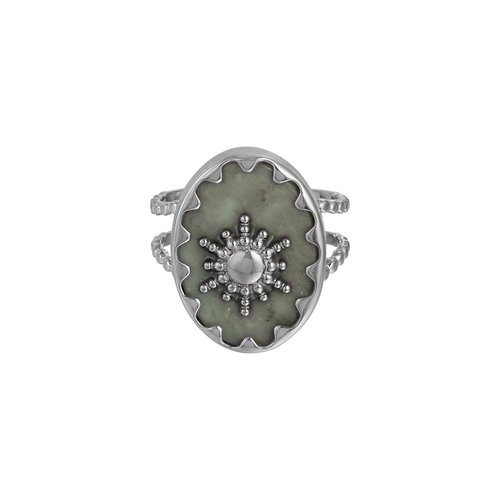 LADYLIKE FASHION Ring Ray of Light Grey