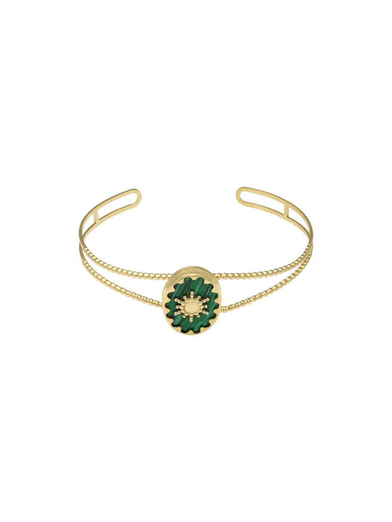 LADYLIKE FASHION Bracelet Ray of Light Green