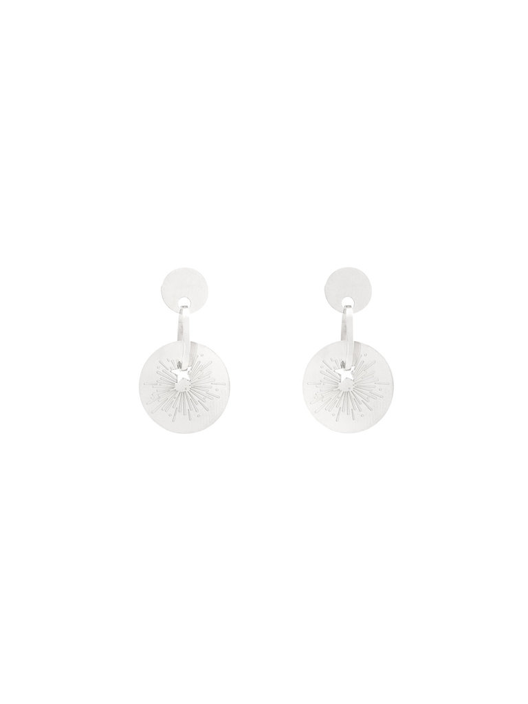 LADYLIKE FASHION Earrings The Spark Silver