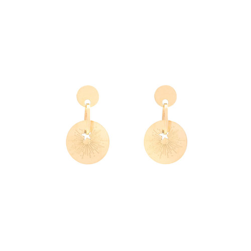 LADYLIKE FASHION Earrings The Spark Gold