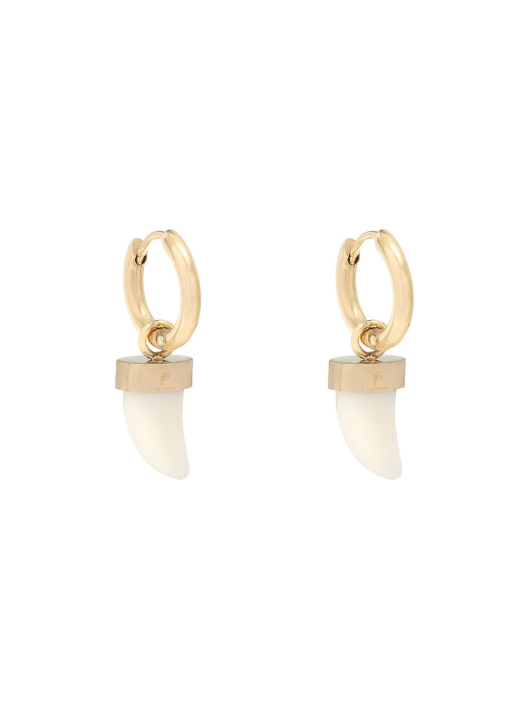 LADYLIKE FASHION Earrings Bull's Eye Gold