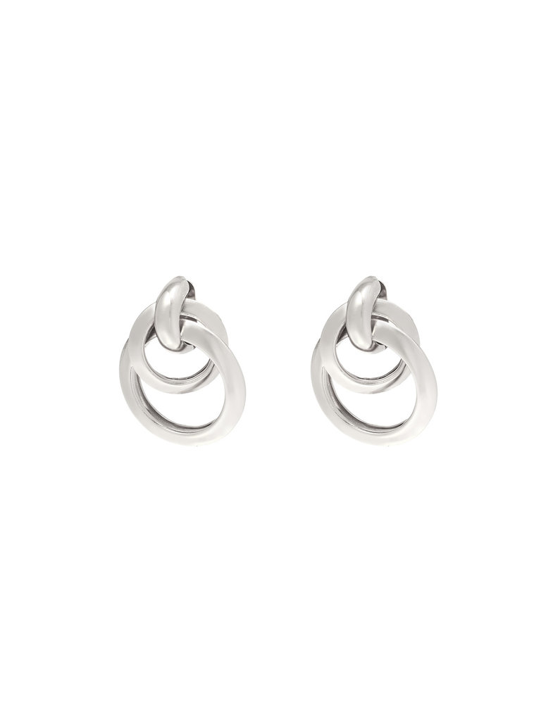 LADYLIKE FASHION Earrings Dance With Me Silver