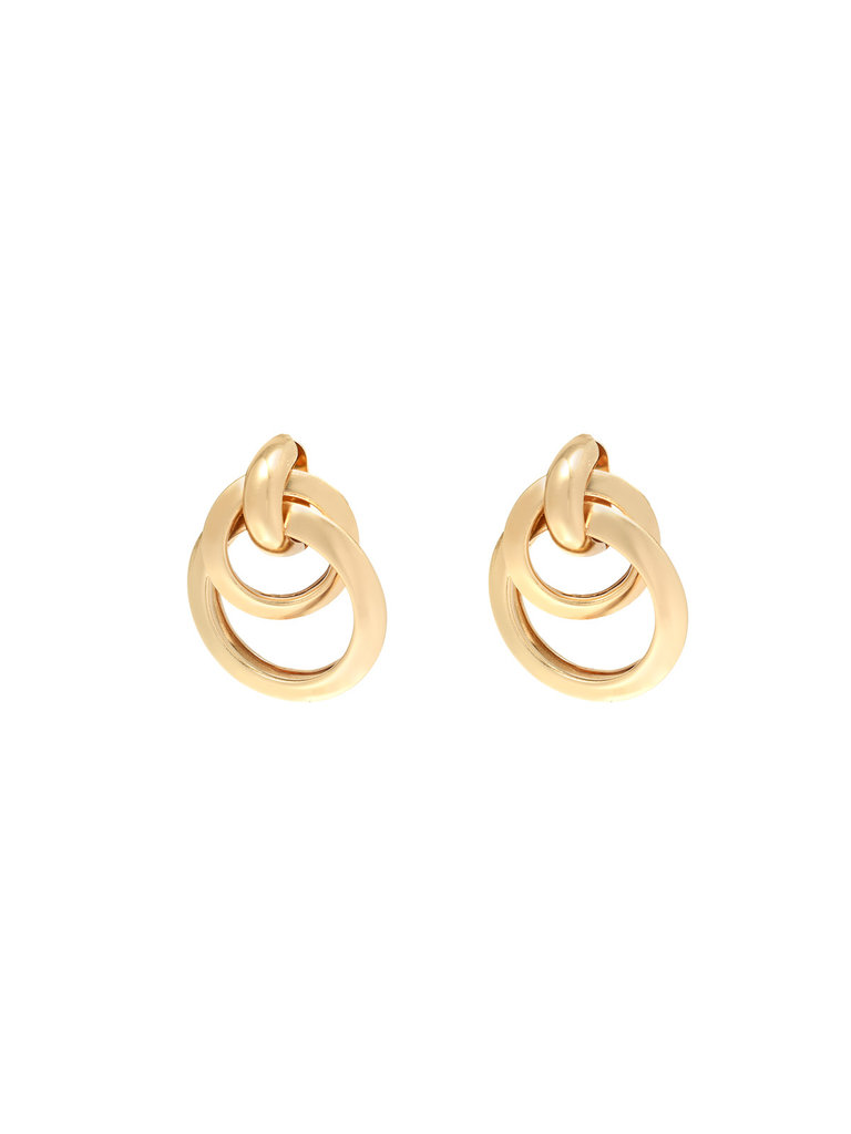 LADYLIKE FASHION Earrings Dance With Me Gold