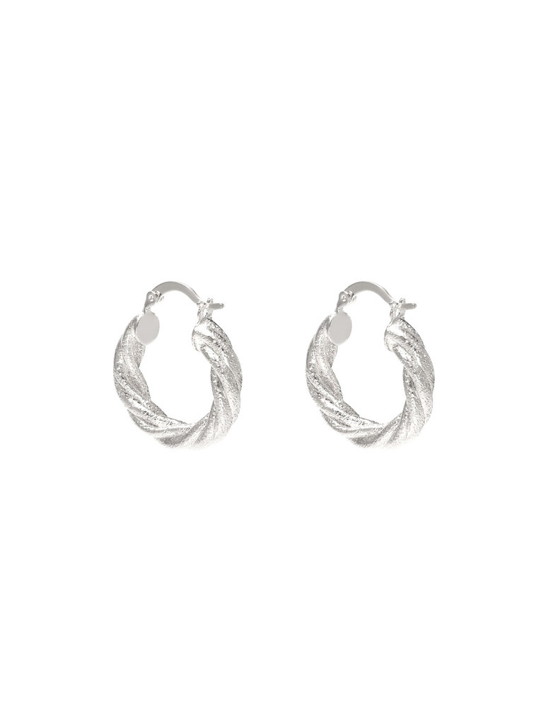 LADYLIKE FASHION Earrings Urban Bling Silver
