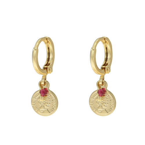 LADYLIKE FASHION Earrings Little Queen Gold