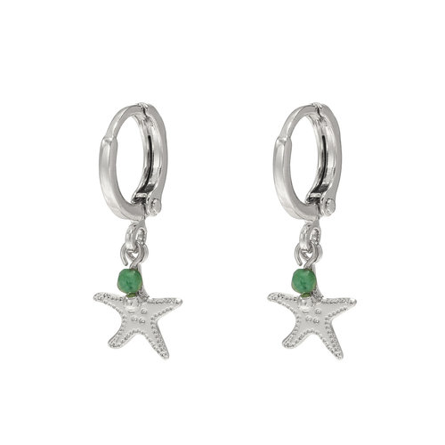 LADYLIKE FASHION Earrings Beach Dream Silver