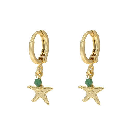 LADYLIKE Earrings Beach Dream Gold