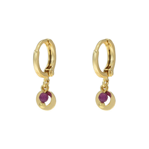 LADYLIKE FASHION Earrings Love Me Tender Gold