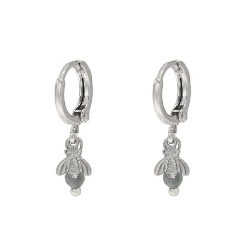 LADYLIKE FASHION Earrings Fly Away Silver