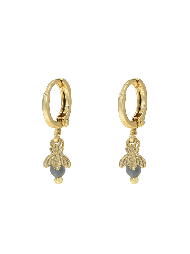 LADYLIKE FASHION Earrings Fly Away Gold