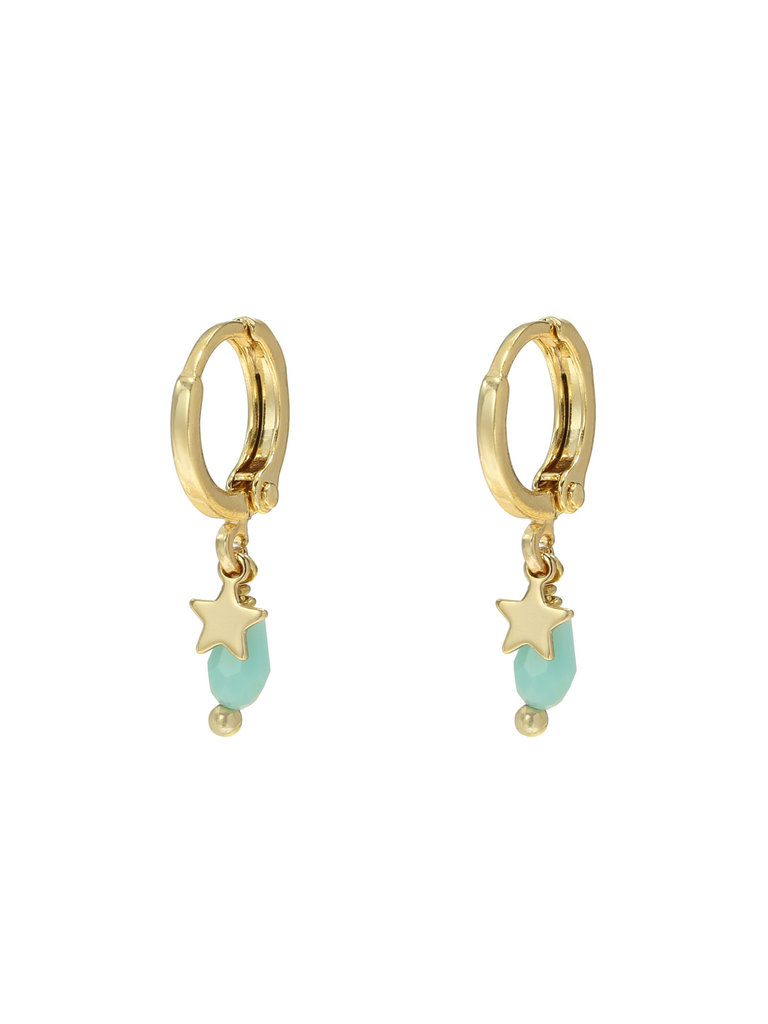 LADYLIKE FASHION Earrings Ocean Star Gold