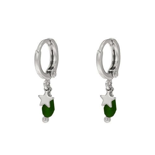 LADYLIKE FASHION Earrings Ocean Star Silver