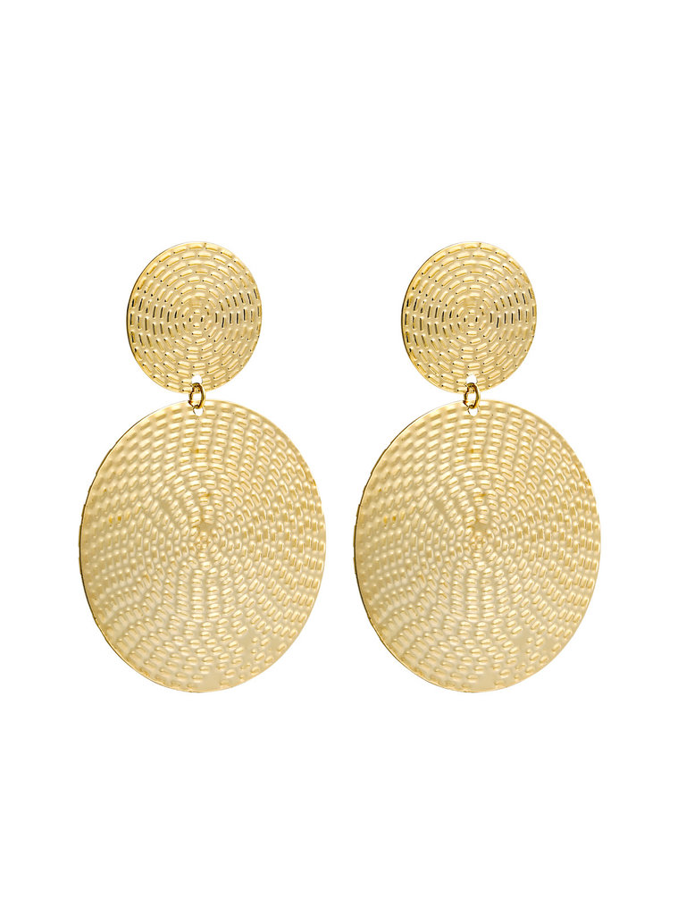 LADYLIKE FASHION Earrings Inca Love Gold