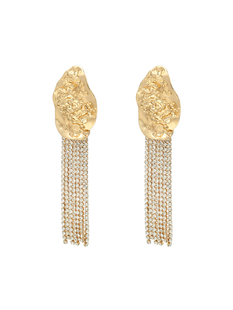 LADYLIKE FASHION Earrings Ladies Night Gold