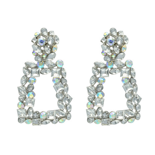 LADYLIKE FASHION Earrings Party Night Silver