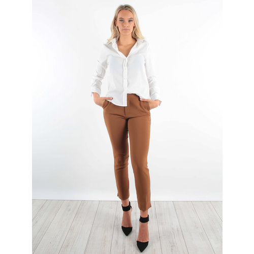 Wide Leg Trousers Camel