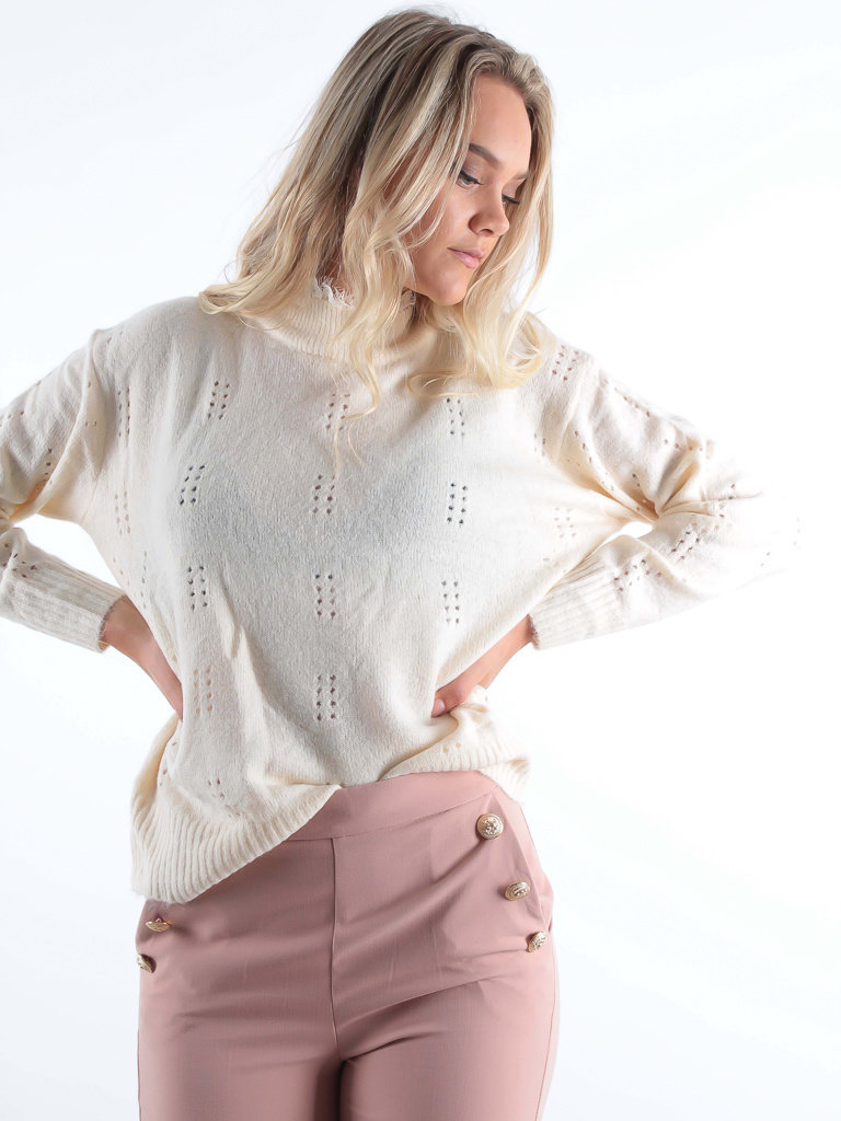 Soft Jumper Lace Ecru