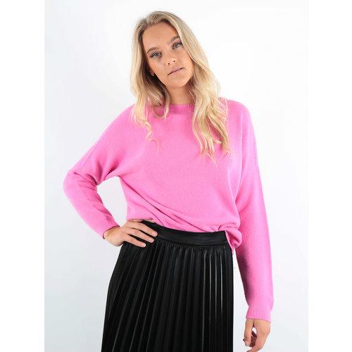 ALEXANDRE LAURENT Boxy Wool Jumper Pink