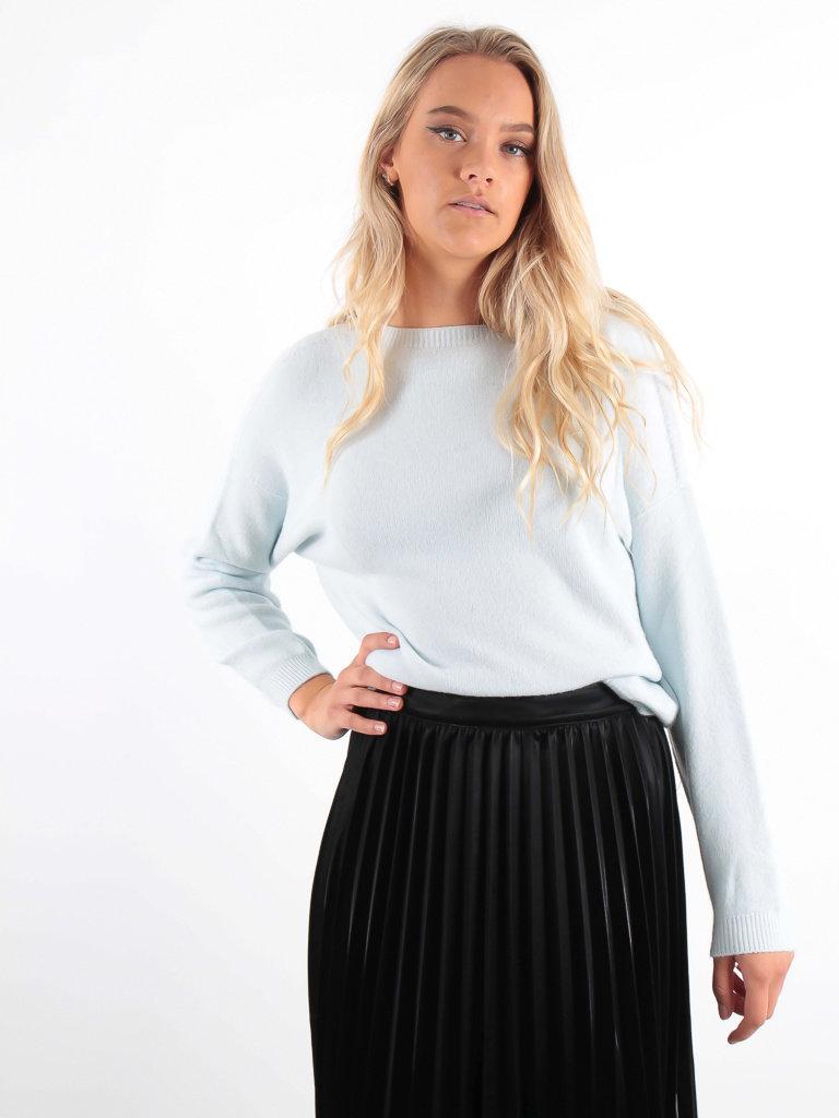 ALEXANDRE LAURENT Boxy Wool Jumper Baby Blue