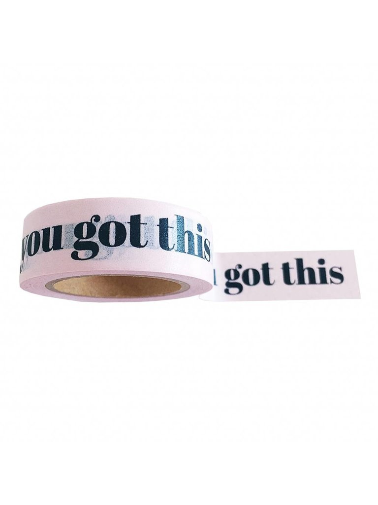 STUDIO STATIONERY Washi Tape You got This