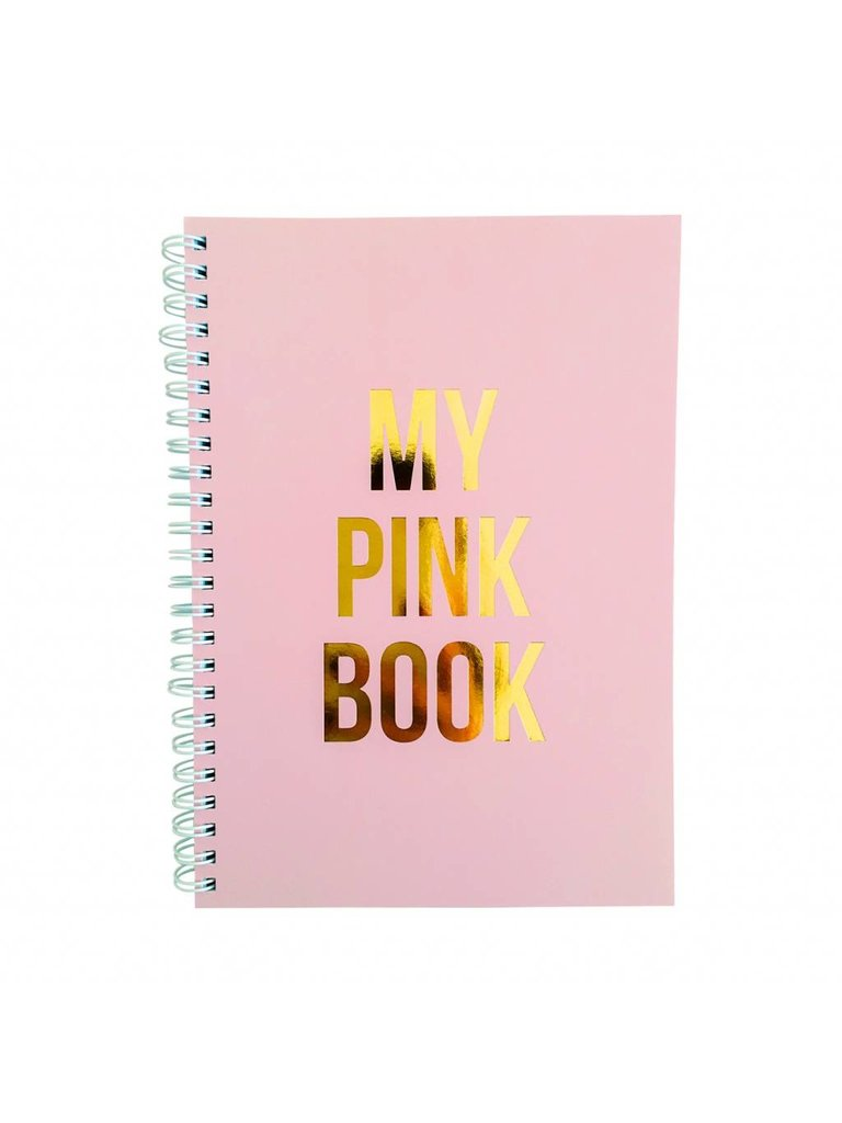 STUDIO STATIONERY - LADYLIKE FASHION Notitie Boek My pink Book