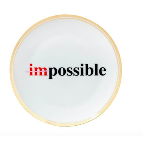 BITOSSI Plate Impossible Small