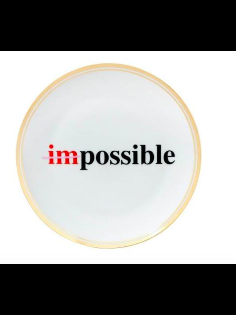 BITOSSI- LADYLIKE FASHION Plate Impossible Small