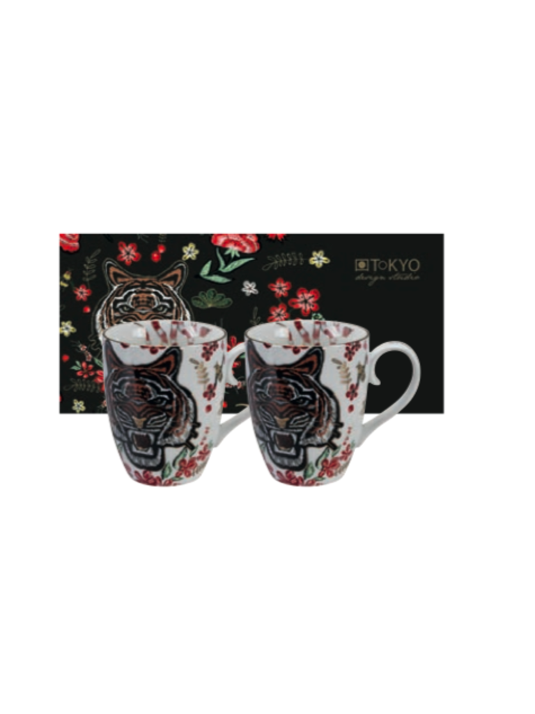 CNB ENTERPRISES - LADYLIKE FASHION Mug Set Tiger