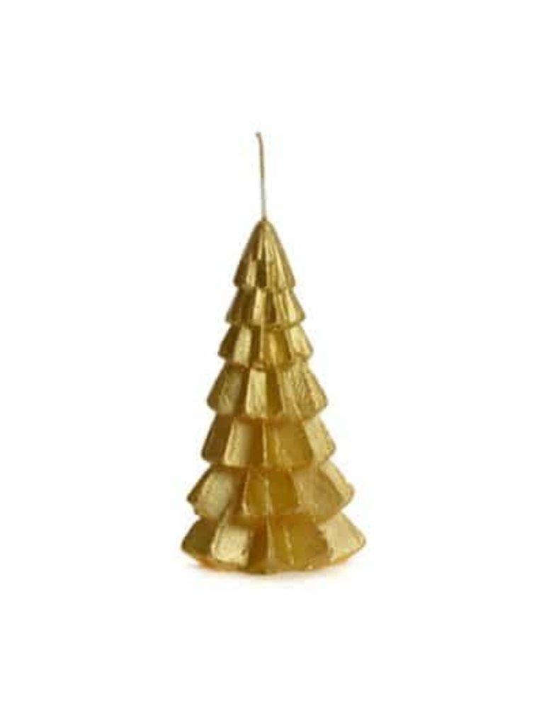 RUSTIK LYS - LADYLIKE FASHION Tree Candle Gold Small