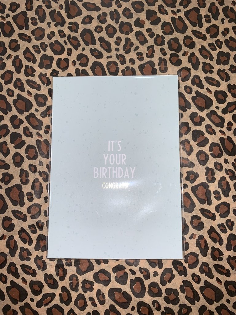 MY PAPERSTATION - LADYLIKE FASHION Postcard It's Your Birthday Congrats