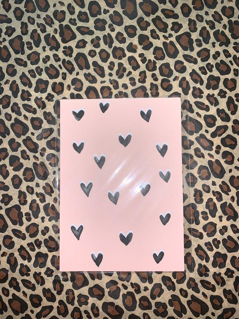 MY PAPERSTATION - LADYLIKE FASHION Postcard Hearts