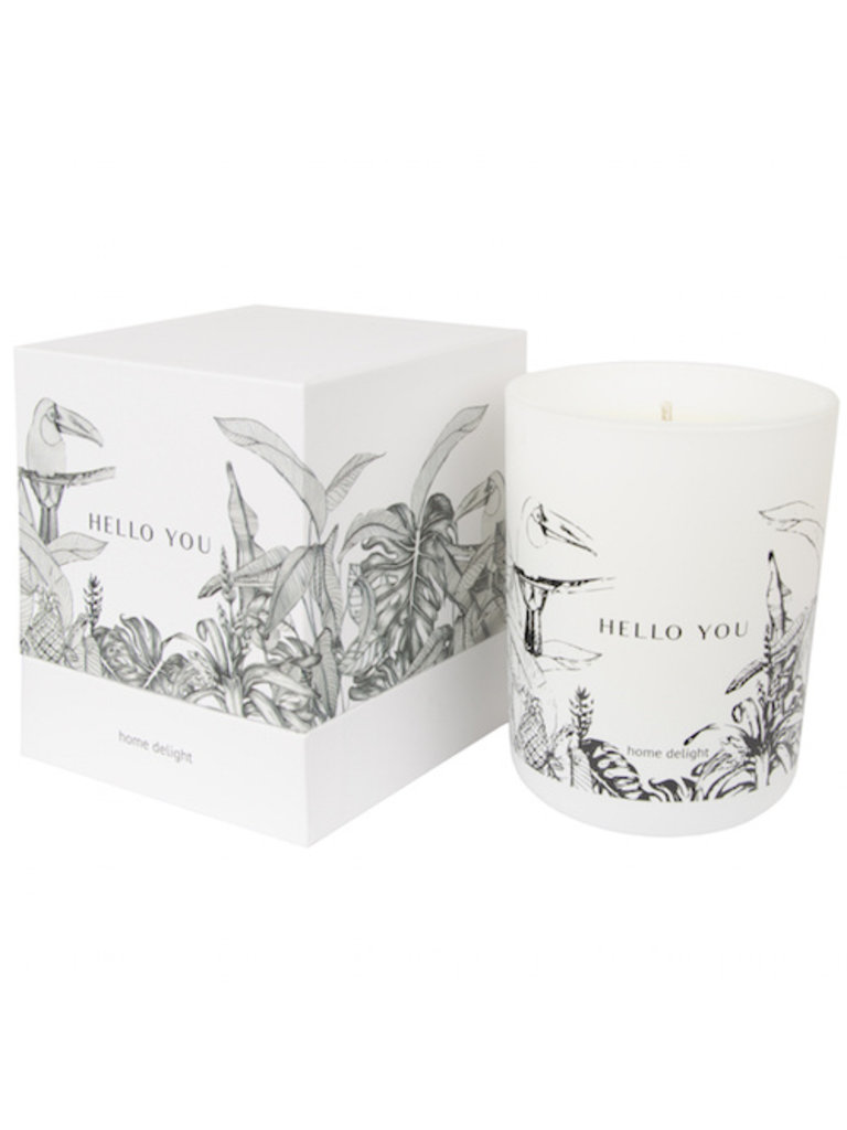 HOME DELIGHT - LADYLIKE FASHION Scented Candle Hello You