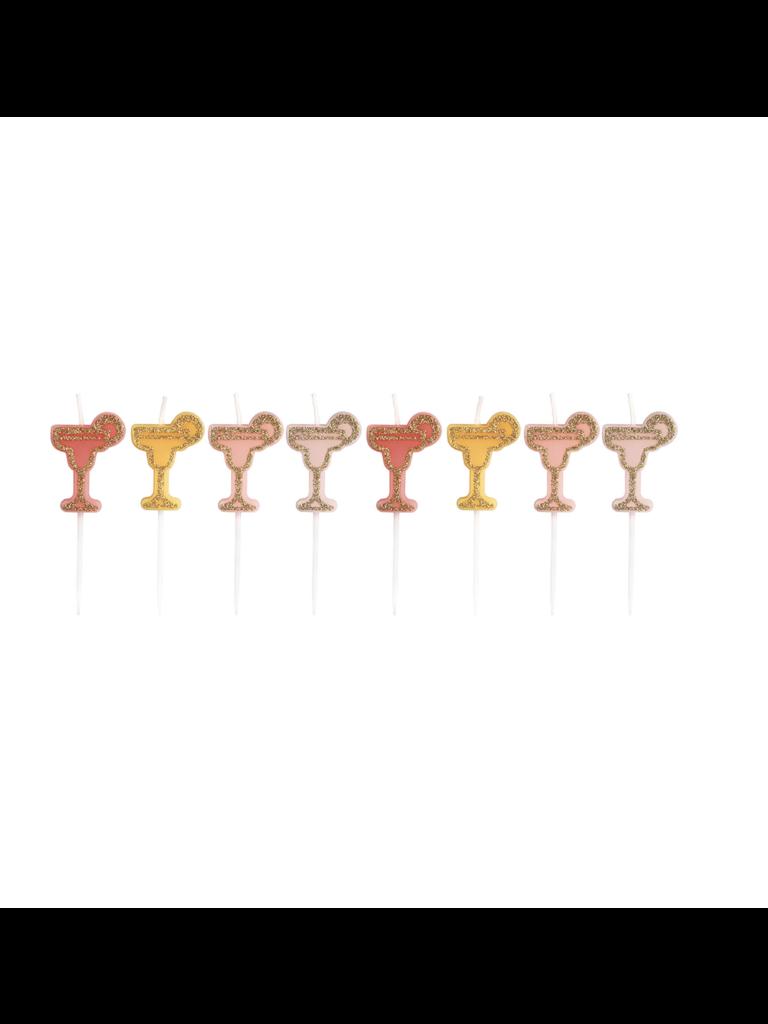 & KLEVERING- LADYLIKE FASHION Set 8 Kaarsjes Cocktail