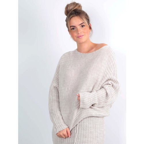 LADYLIKE FASHION Short Jumper Beige