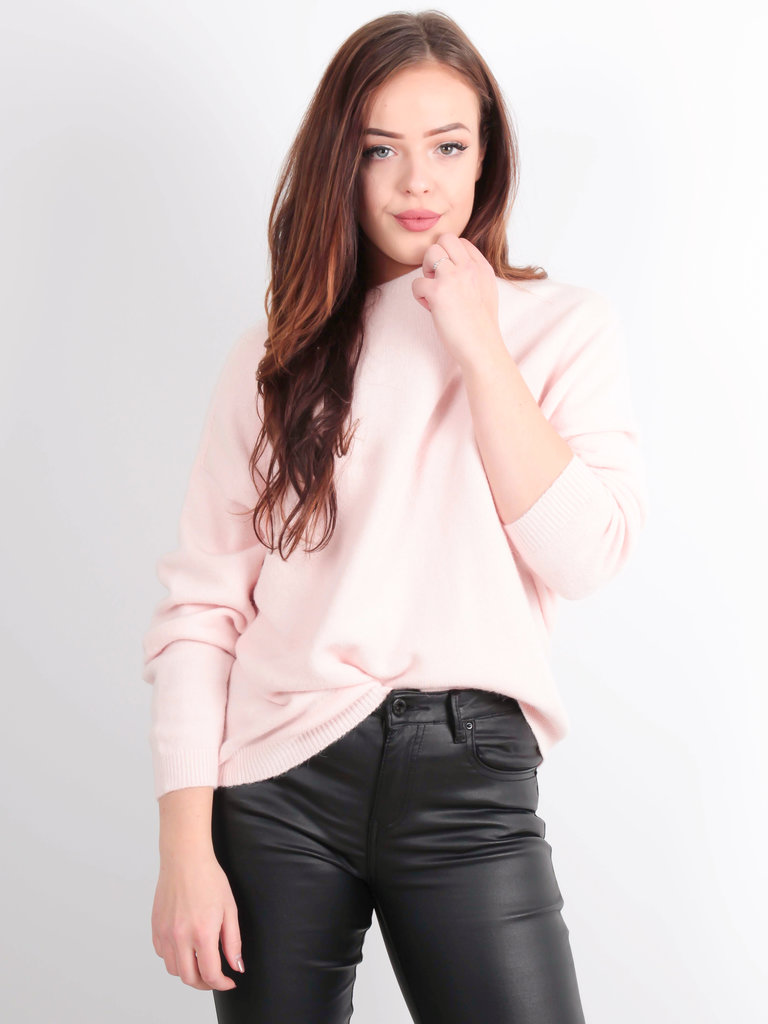 ALEXANDRE LAURENT Boxy Wool Jumper Baby Pink