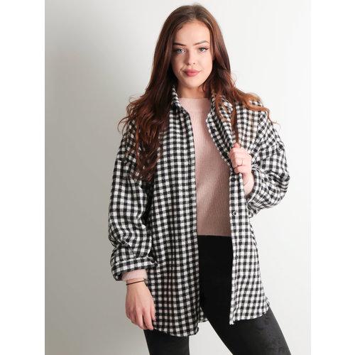 LADYLIKE FASHION Block Jacket Black/White