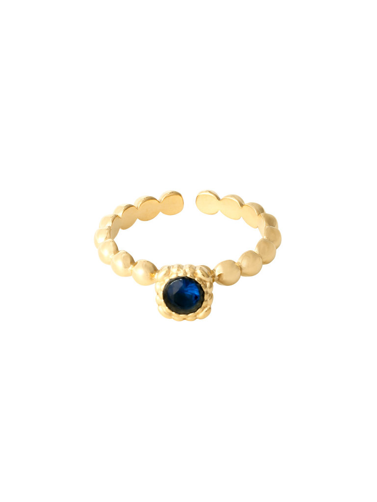 LADYLIKE THE LABEL Ring Rock Your Color Blue