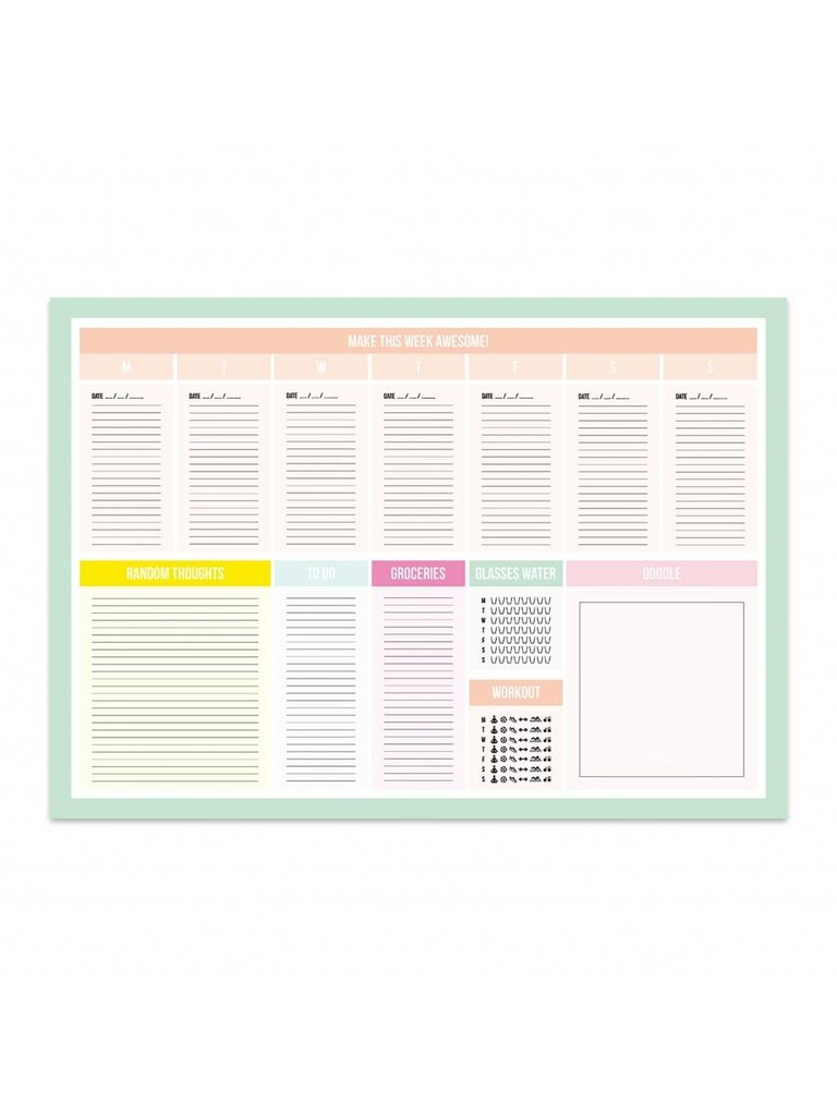 LADYLIKE FASHION Awesome desk planner