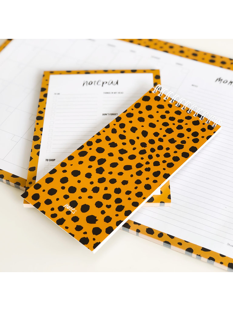 STUDIO STATIONERY - LADYLIKE FASHION Noteblock Cheetah