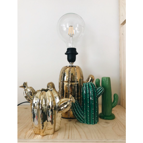 HOUSE VITAMIN - LADYLIKE FASHION Golden Cactus Vase