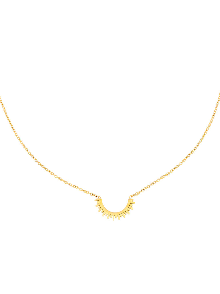 YEHWANG Necklace Few Sun Rays Gold