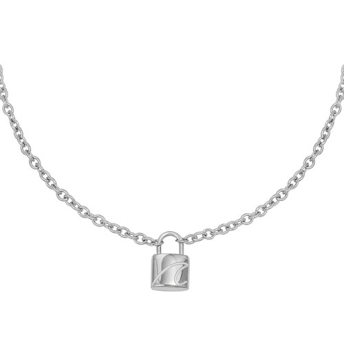 YEHWANG Necklace Special Lock Silver