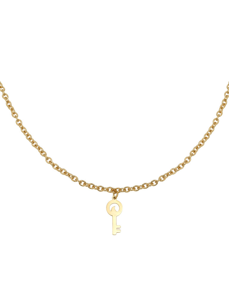 YEHWANG Necklace Special Key Gold